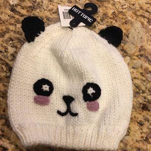 NWT Hot Topic Panda Beanie!